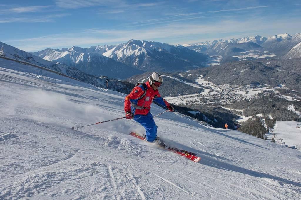 Erwachsenen Skikurs Schischule Seefeld Tirol