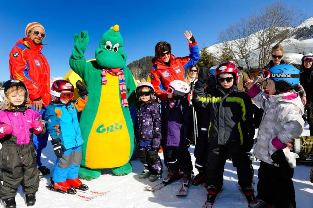 Gizzis Kinderland - Kinderskikurs in der Schischule Seefeld