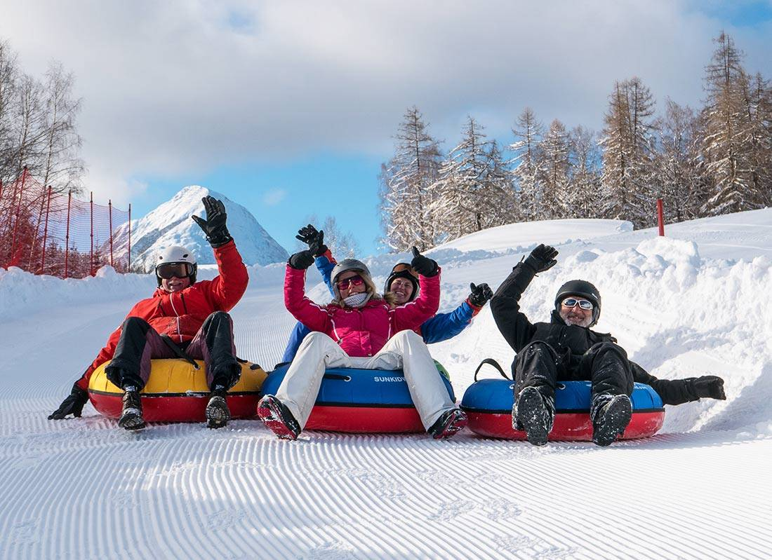 Snowtubing in Seefeld in Tirol