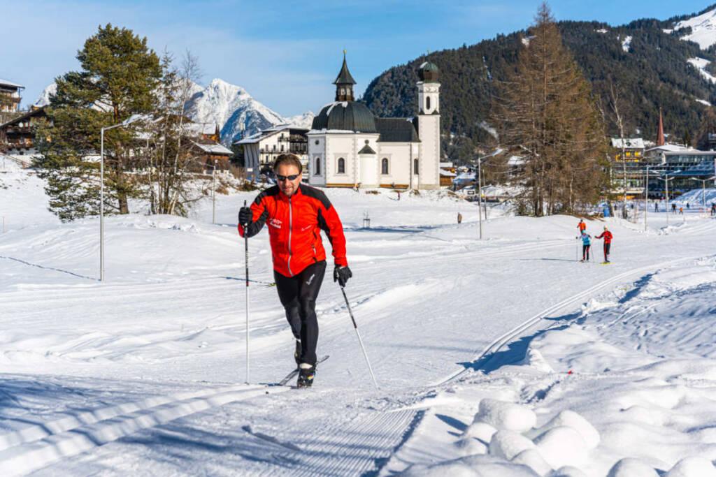 Klassischer Langlauf Stil - Skischule Seefeld