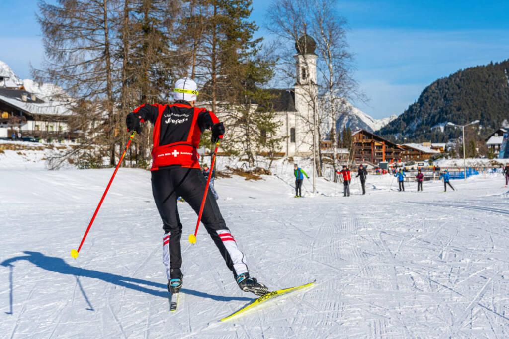 Langlauf Skating Skischule Seefeld